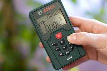 Bosch PLR 25 Entfernungsmesser Praxistest - Messfunktionen